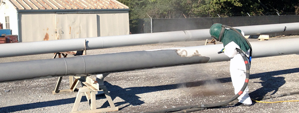 чистка нефтепровода бластинг